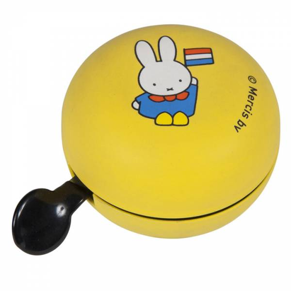 Miffy Bicycle Bell Yellow