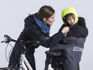Opossum Rear bike seat thermal cover