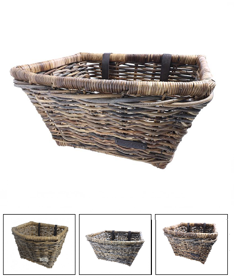 Wicked Rattan Belly Basket