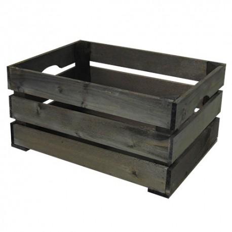 Wooden Crate L