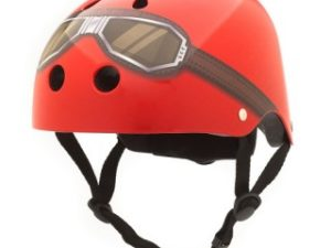 Coconuts Helmet Red Goggles