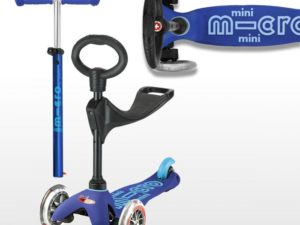 Mini Micro Scooter Deluxe 3 in 1